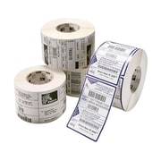 Zebra Z-Select 4000T Permanent Adhesive Thermal Transfer Label for 105SL/S600, White, 2130 Label/Roll, 4/Roll (94681)