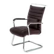 @theOffice® 4 Series Guest Chair, Brown Alterna