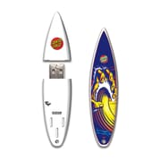 EP Memory SurfDrive Santa Cruz Hand Wave 2012 SCSURFHW8GB USB 2.0 Flash Drive, Blue/White