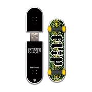 EP Memory Flip Skatedrive 8GB USB 2.0 Flash Drive, Leopard