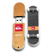 EP Memory QS Skatedrive 8GB USB 2.0 Flash Drive, Pusher