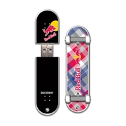 EP Memory Red Bull Skatedrive 8GB USB 2.0 Flash Drive, Red Plaid