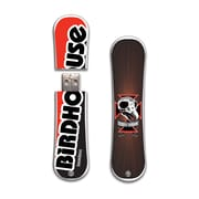 EP Memory Birdhouse/Tony Hawk SnowDrive 8GB USB 2.0 Flash Drive, Red Skull