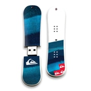 EP Memory Last Mission Blue Snowdrive QS-SNOWLMB/8G USB 2.0 Flash Drive, Blue/White