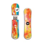 EP Memory Crimson Tracks Snowdrive RXSNOWCTS8GB USB 2.0 Flash Drive, Multicolor