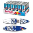 EP Memory 24/Pack Red Bull Sugarfree Energy Drink & Surfdrive 8GB USB 2.0 Flash Drive, Blue Camo