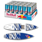 EP Memory Red Bull Blue Cammo Surfdrive RBSF24SUBC/8GB USB 2.0 Flash Drive, Multicolor, (Quantity of 1 Flash Drive)