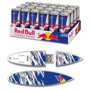 EP Memory Red Bull Blue Cammo Surfdrive RBO24SUBC/8GB USB 2.0 Flash Drive, Multicolor, (Quantity of 1 Flash Drive)