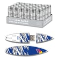 EP Memory 24/Pack Red Bull Silver Energy Drink & Surfdrive 8GB USB 2.0 Flash Drive, Blue Camo