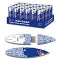 EP Memory 24/Pack Red Bull Blue Energy Drink & Surfdrive 8GB USB 2.0 Flash Drive, Blue Text