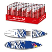 EP Memory Red Bull Red Energy Drink & Surfdrive RBR24SUBC/8GB USB 2.0 Flash Drive, Blue Camo, (Quantity of 1 Flash Drive)
