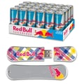 EP Memory 24/Pack Red Bull Sugarfree Energy Drink & SnowDrive 8GB USB 2.0 Flash Drive, Yellow Plaid