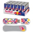 EP Memory 24/Pack Red Bull Original Energy Drink & SnowDrive 8GB USB 2.0 Flash Drive, Yellow Plaid