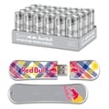EP Memory 24/Pack Red Bull Silver Energy Drink & SnowDrive 8GB USB 2.0 Flash Drive, Yellow Plaid