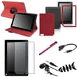 Insten® 1054452 7 Piece Tablet Case Bundle For Barnes & Noble Nook HD+