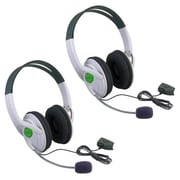 Insten® 386195 2 Piece Game Headset Bundle For Xbox 360