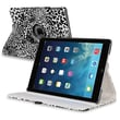 Insten PAPPIPD5LC18 Synthetic Leather Folio Case for Apple iPad Air, White/Black