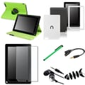 Insten® 1054453 7 Piece Tablet Case Bundle For Barnes & Noble Nook HD+
