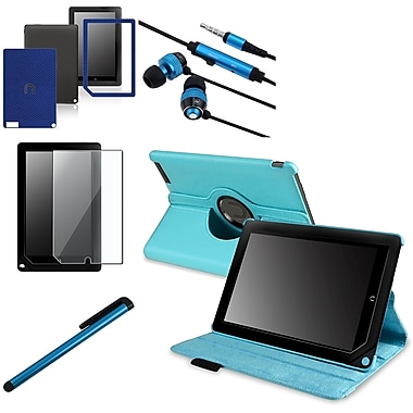 Insten® 1029711 5 Piece Tablet Case Bundle For Barnes & Noble Nook HD+