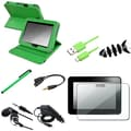 Insten® 1052363 8 Piece Tablet Case Bundle For 7in. Amazon Kindle Fire HD 2012 Edition