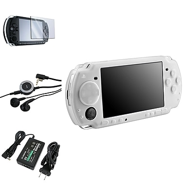 Insten® 1038810 4 Piece Game Case Bundle For Sony PSP Slim 2000/3000