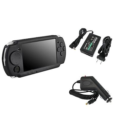 Insten® 246704 3 Piece Game Case Bundle For Sony PSP Slim 2000/3000