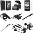 Insten® 375102 9 Piece Cellphone Case Bundle For Motorola Droid Xtreme/Droid X