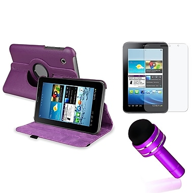 Insten® 1156875 3 Piece Tablet Case Bundle For 7in. Samsung Galaxy Tab 2 P3100/ P3110/ P3113