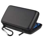 Insten® Eva Case For Nintendo 3DS XL, Black