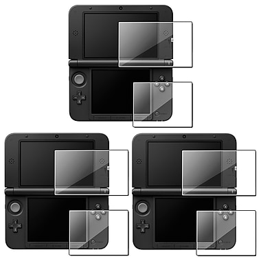 Insten® 698087 3 Piece Game Protector Bundle For Nintendo 3DS XL