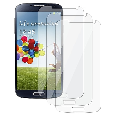 Insten® Reusable Screen Protector For Samsung Galaxy S4 i9500, Clear, 3/Pack