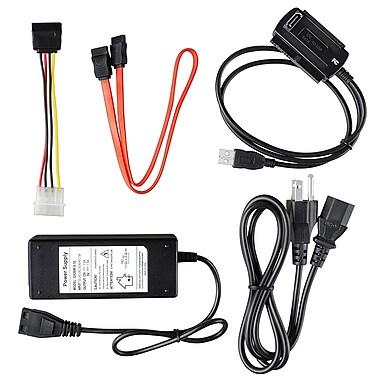 Insten® USB 2.0 to IDE/SATA Converter Cable, Black
