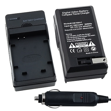 Insten® BCANNB5LCS03 Compact Battery Charger Set For Canon NB-5L