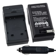 Insten® BFUJNP50CS02 Compact Battery Charger Set For Kodak KLIC-7004/Fuji NP-50/Pentax DL-I68