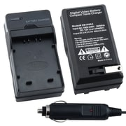 Insten® BPANS006CS02 Compact Battery Charger Set For Panasonic CGA-S006/CGR-S006
