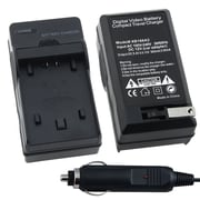 Insten® BSONFH50CS02 Compact Battery Charger Set For Sony NP-FP50/70/90/NP-FH50/40/60/10