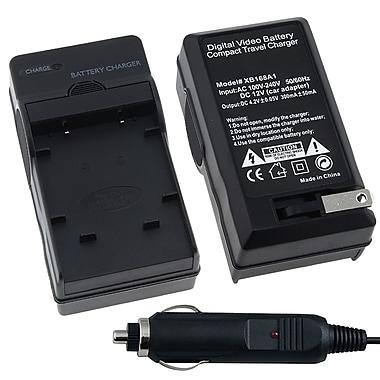 Insten® BOLYLI40BCS3 Compact Battery Charger Set For Olympus Li-40B/Nikon EN-EL10/Fuji NP-45