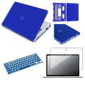 Insten® 528329 3 Piece PC Case Bundle For Apple MacBook Pro 13in.