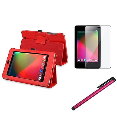 Insten® 799032 3 Piece Tablet Case Bundle For Google Nexus 7 2012 Edition