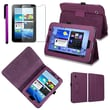 "Insten 1056304 Synthetic Leather Case for 7"" Samsung Galaxy Tab 2 P3100/P3110/P3113 Tablet, Purple"