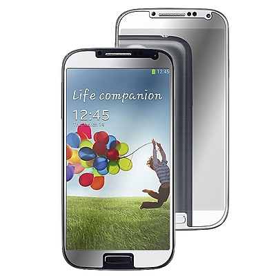 Insten Mirror Screen Protector For Samsung Galaxy S4 i9500, Clear
