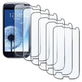 Insten® Screen Protector For Samsung Galaxy S3 i9300, Clear, 6/Pack