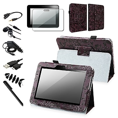 Insten® 1013192 8 Piece Tablet Case Bundle For 7in. Amazon Kindle Fire HD 2012 Edition