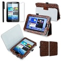 Insten® 925668 3 Piece Tablet Case Bundle For 7in. Samsung Galaxy Tab 2 P3100/P3110