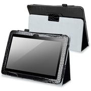Insten® Leather Case With Stand For Amazon Kindle Fire HD 8.9/Nook HD+, Black Crocodile skin