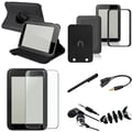 Insten® 1054449 7 Piece Tablet Case Bundle For Barnes & Noble Nook HD