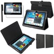 Insten® 722202 3 Piece Tablet Case Bundle For 10.1in. Samsung Galaxy Tab 2 P5100 /P5110