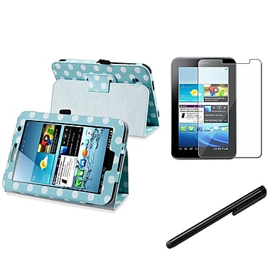 Insten® 1083730 3 Piece Tablet Case Bundle For 7in. Samsung Galaxy Tab 2 P3100/P3111