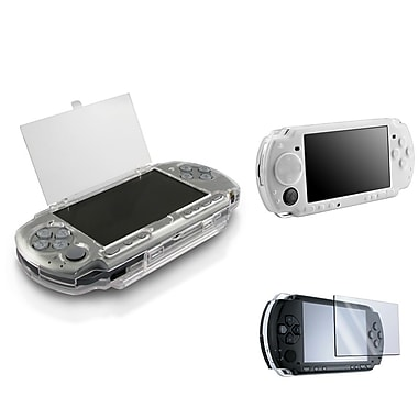 Insten® 1302861 3 Piece Game Case Bundle For Sony PSP