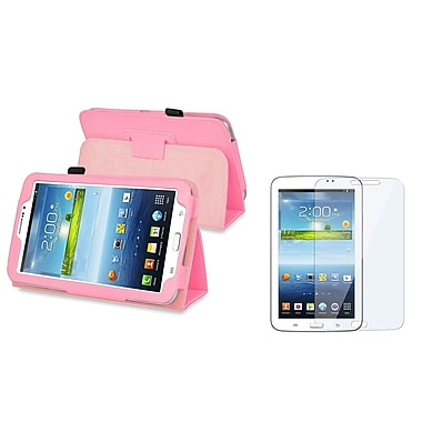 Insten® 1175872 2 Piece Tablet Case Bundle For 7in. Samsung Galaxy Tab 3 P3200/Kids